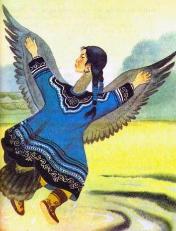 Сказка Айога, Нанайская сказка