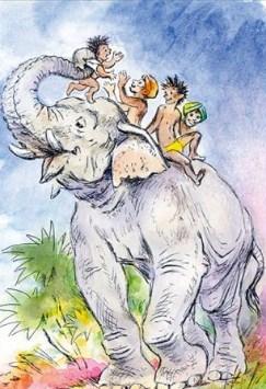 Сказка Про слона, Борис Житков