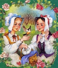 Беляночка и Розочка, Сказка