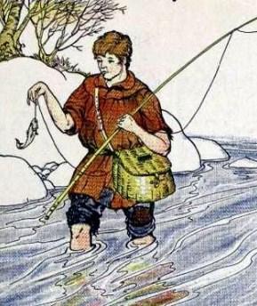 Рыбак и рыбка, Басня