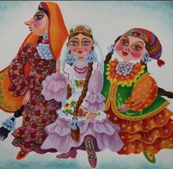 Сказка Три сестры, Татарская сказка