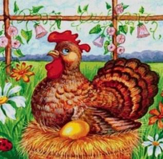Курица и золотые яйца