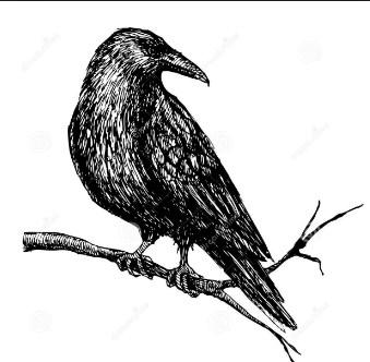 Сказка Ворона и ворон, Эзоп .