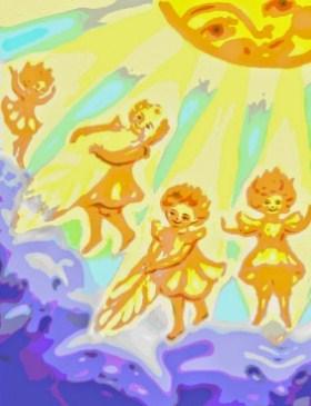 Солнечная сказка, Сказка