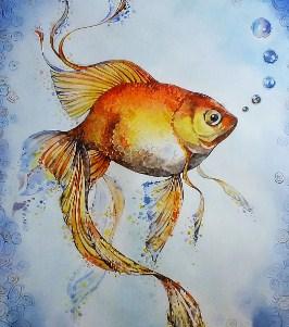 Сказка Золотая рыба, Китайская народная сказка