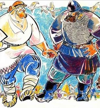 Сказка Вольга и Микула, Русские былины и легенды