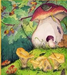 Сказка Война грибов, Русская народная сказка