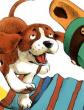 Сказка про щенка и старую тапочку