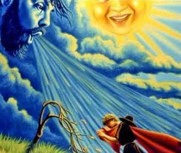 Сказка Солнце и ветер, Эзоп древнегреческий баснописец