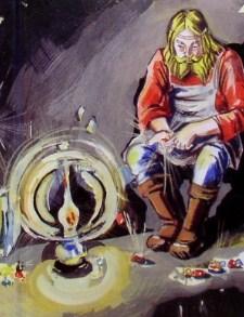 Сказка Живой огонек, Бажов Павел