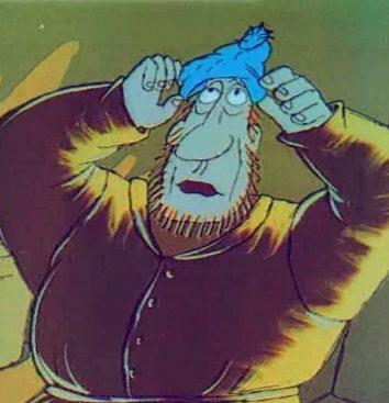 Синяя шапочка, Сказка