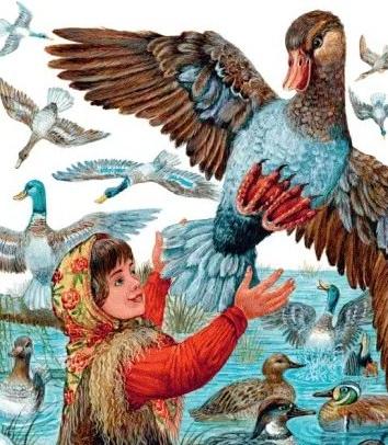 Сказка Анюткина утка, Виталий Бианки