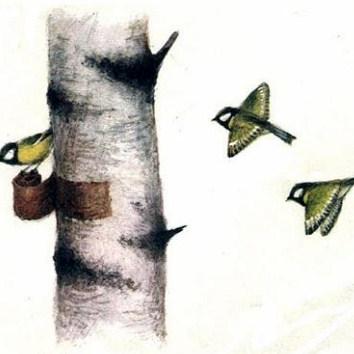Сказка Берестяная трубочка, Пришвин Михаил