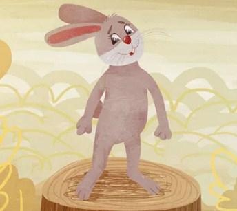 Почему у зайца длинные уши, Сказка