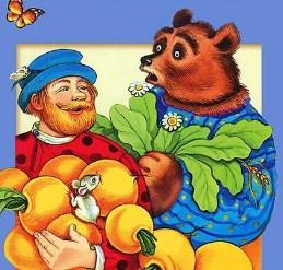Медведь-половинщик, Сказка