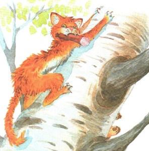 Кот-ворюга, Рассказ
