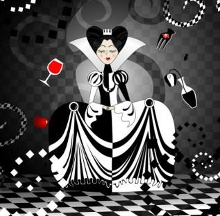 Шахматная Королева, Сказка