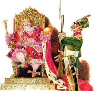 Сказка про короля и солдата, Маршак Самуил