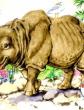Откуда у носорога шкура, Сказка