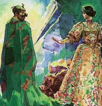 Сказка Приказчиковы подошвы, Бажов Павел