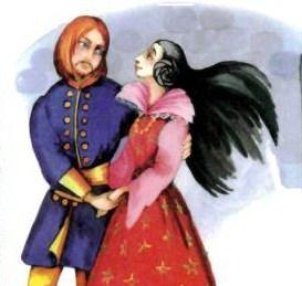 О найденной принцессе, Сказка