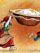 Рождественская каша, Сказка