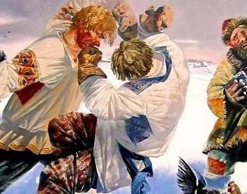 Сказка Широкое плечо, Бажов Павел