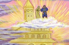 Ведьма и солнцева сестра, Сказка