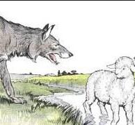 Сказка Волки и Овцы, Крылов Иван