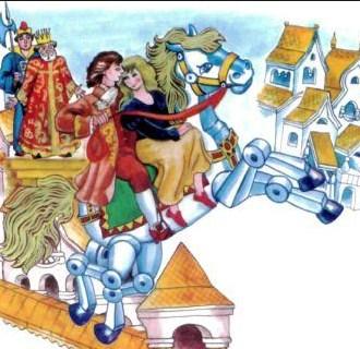 Волшебный конь, Сказка