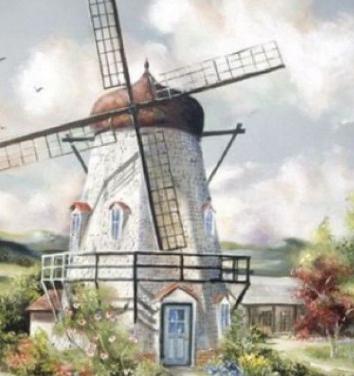 Ветряная мельница, Сказка