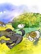 Два барана и волк