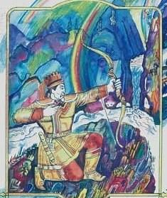 Сказка Сартакпай, Алтайская сказка