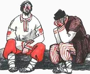 Сказка Певец, Белорусская народная сказка