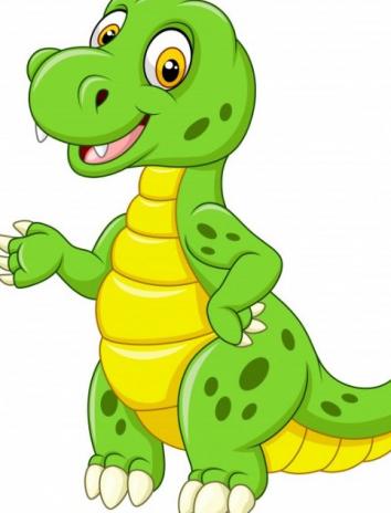 О динозавре по имени Неумеха, Сказка