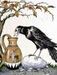 Ворона и кувшин, Басня