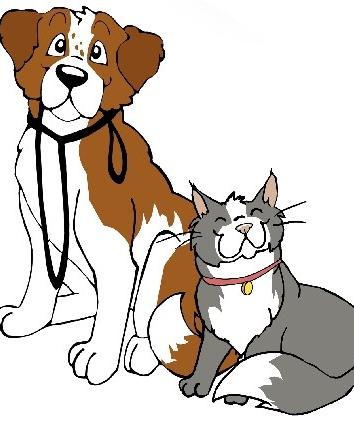 Сказка Почему собаки не любят кошек, Китайская народная сказка