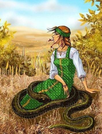 Сказка Человек и змея, Лафонтен Жан