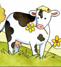 Корова и козёл, Басня