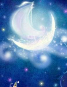 Лунный луч, Сказка