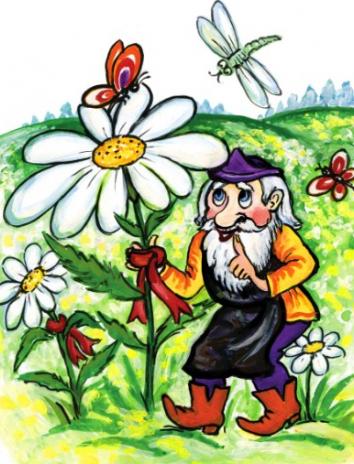 Сказка Поле ромашек, Ирландская сказка