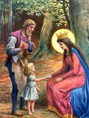Дитя Марии, Сказка