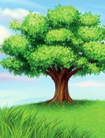О заколдованном дереве, Сказка