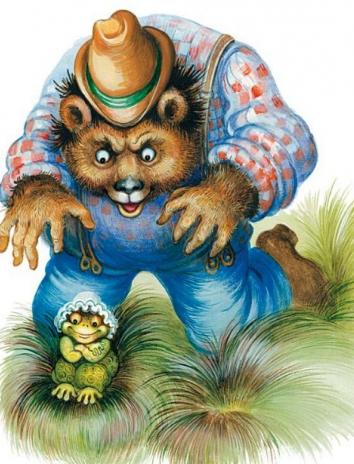 Братец Медведь и Сестрица Лягушка, Сказка