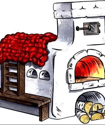 Сказка «Большая печка»