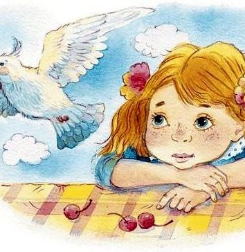 Девочка Катя, Рассказ