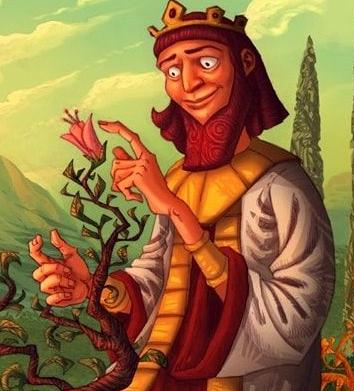 Король Мидас, Сказка