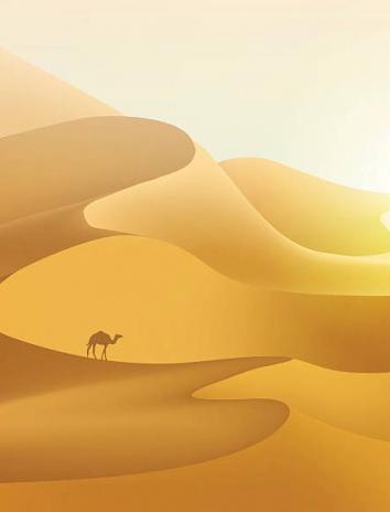 На дюнах, Сказка