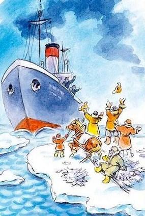 Сказка На льдине, Борис Житков