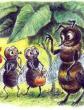 Пчела и Мухи, Басня